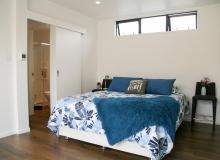 Master bed furnished
