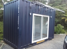 10m2 sleep-out with awning