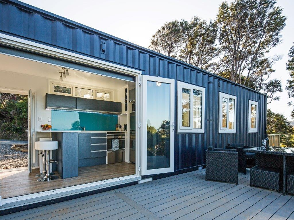 Gallery iq container homes - How to make a home from shipping containers in new ...