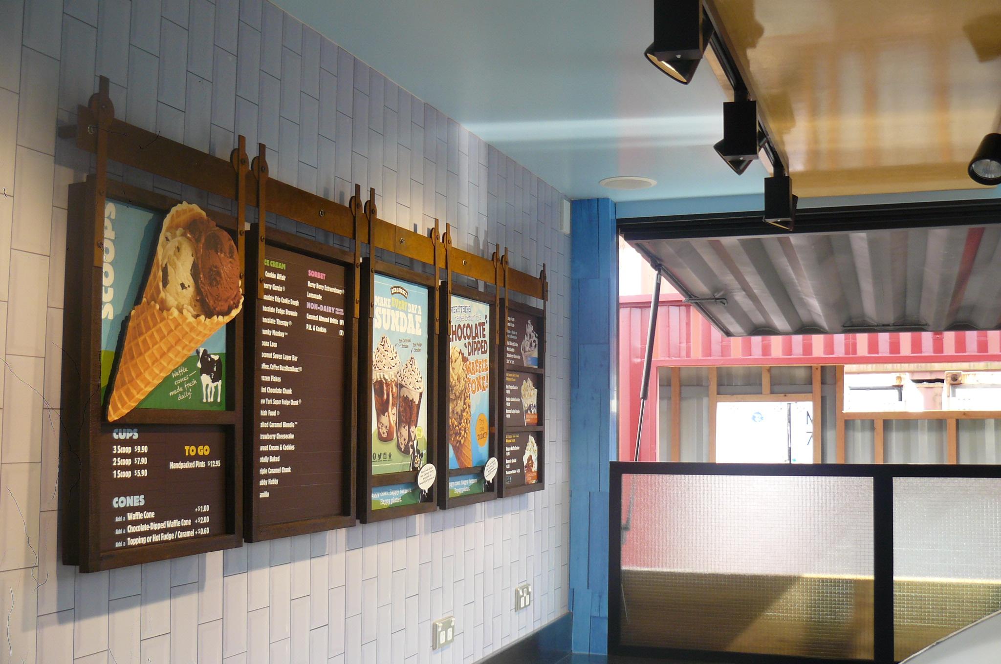 Ben & Jerry Interior