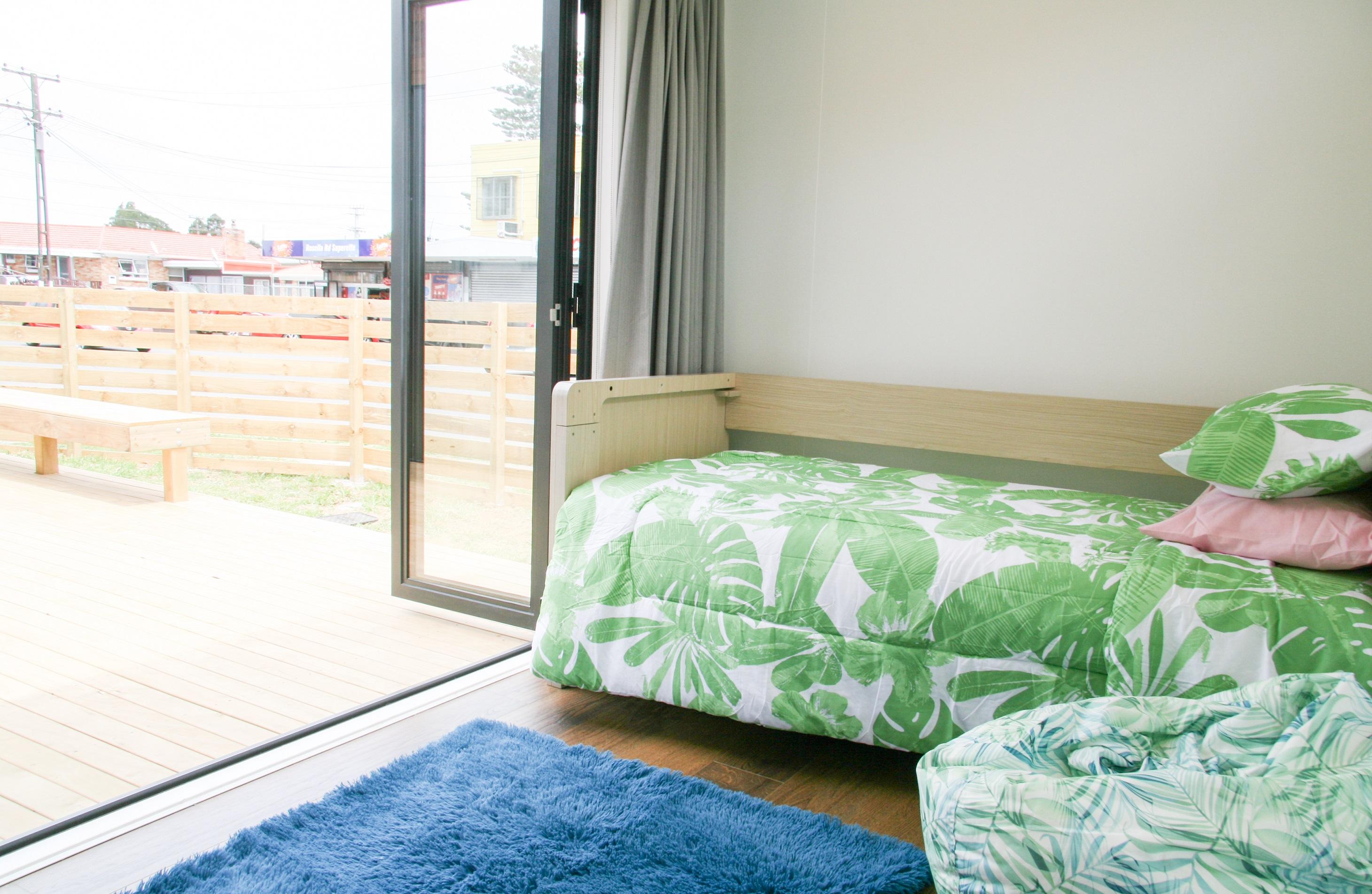 3rd bedroom furnished