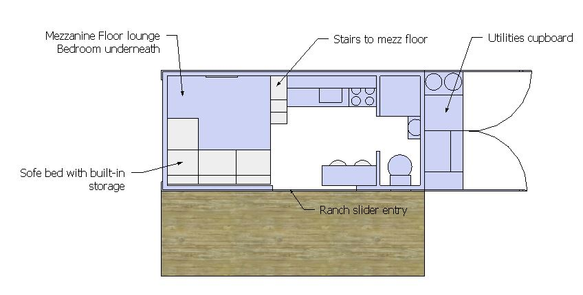 GB mexx floor plan furnished