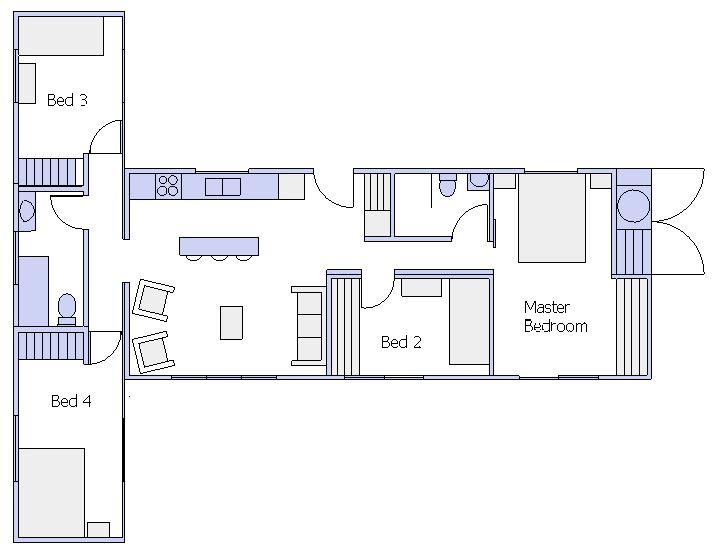 Paihia furnished plan